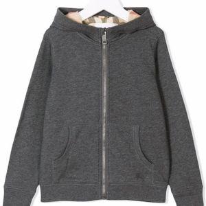 Burberry Kids Shirts & Tops - Kids Burberry Hooded Cotton Top